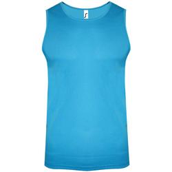 Vêtements Homme Débardeurs / T-shirts sans manche Sols Performance Bleu clair