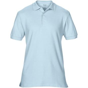 Vêtements Homme Polos manches courtes Gildan Premium Bleu