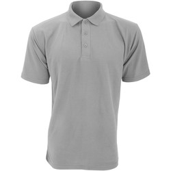Vêtements Homme Polos manches courtes Ultimate Clothing Collection UCC003 Gris