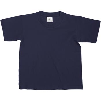 Vêtements Enfant T-shirts manches courtes B And C Exact Bleu marine