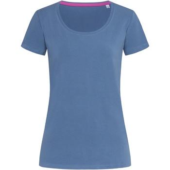 Vêtements Femme T-shirts manches courtes Stedman Stars Claire Bleu denim
