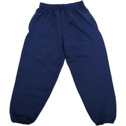 Vêtements Enfant Pantalons de survêtement Jerzees Schoolgear 750B Bleu marine