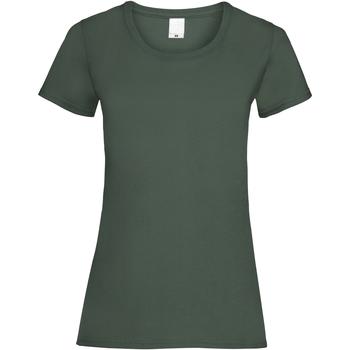 Vêtements Femme T-shirts manches courtes Universal Textiles 61372 Vert foncé