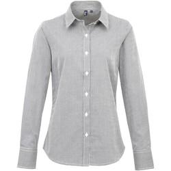 Vêtements Femme Chemises / Chemisiers Premier PR320 Noir/Blanc