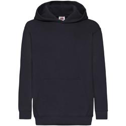 Vêtements Enfant Sweats Fruit Of The Loom 62043 Bleu marine foncé
