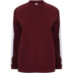 Vêtements Sweats Skinni Fit Contrast Bordeaux / blanc