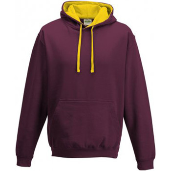 Vêtements Sweats Awdis Hooded Bordeaux / bouton d'or