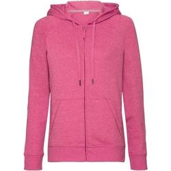 Vêtements Femme Sweats Russell Sweat à capuche HD RW6075 Rose chiné