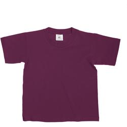 Vêtements Enfant T-shirts manches courtes B And C Exact Bordeaux