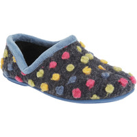 Chaussures Femme Chaussons Sleepers  Bleu/Multicolore