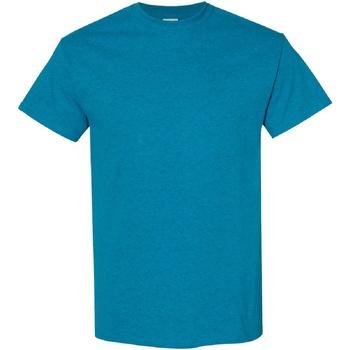 Vêtements Homme T-shirts manches courtes Gildan Heavy Bleu saphir