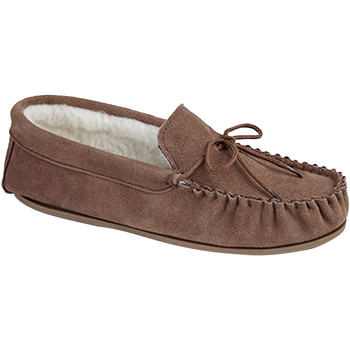 Chaussures Homme Chaussons Mokkers Moccasin Marron