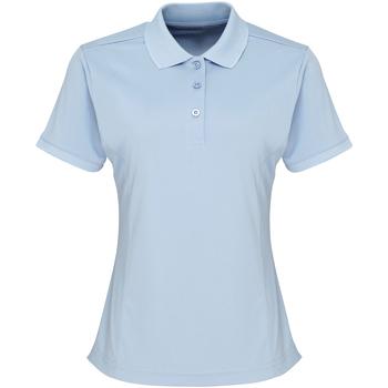 Vêtements Femme Polos manches courtes Premier Coolchecker Bleu clair
