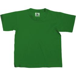Vêtements Enfant T-shirts manches courtes B And C TK300 Vert bouteille
