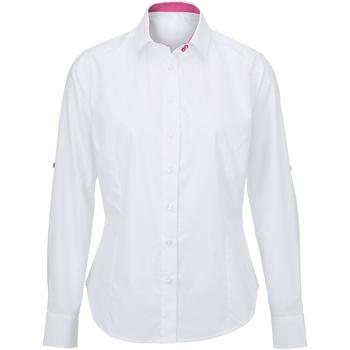Vêtements Femme Chemises / Chemisiers Alexandra AX060 Blanc/Rose