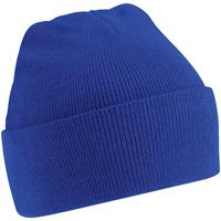 Accessoires textile Enfant Bonnets Beechfield Knitted Bleu roi vif