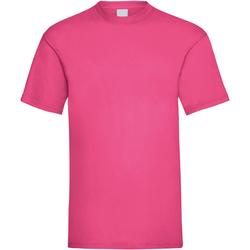 Vêtements Homme T-shirts manches courtes Universal Textiles Casual Rose foncé