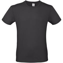 Vêtements Homme T-shirts manches courtes B And C E150 Noir délavé