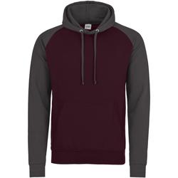 Vêtements Homme Sweats Awdis Hooded Bordeaux / gris foncé