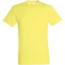 Vêtements Homme T-shirts manches courtes Sols 11380 Jaune pâle