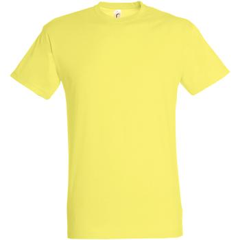 Vêtements Homme T-shirts manches courtes Sols Regent Jaune pâle