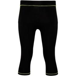 Vêtements Femme Leggings Tridri Tri Dri Noir/Vert éclair