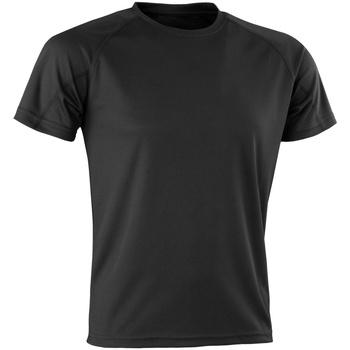 Vêtements Homme T-shirts manches courtes Spiro Aircool Noir