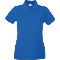 Vêtements Femme Polos manches courtes Universal Textiles Casual Cobalt