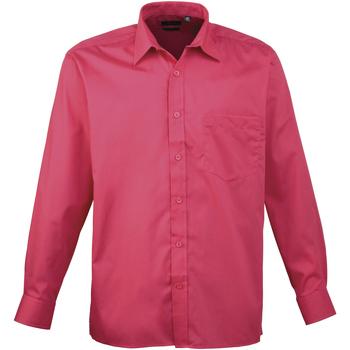Vêtements Homme Chemises manches longues Premier PR200 Rose