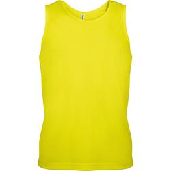 Vêtements Homme Débardeurs / T-shirts sans manche Kariban Proact Proact Jaune fluo