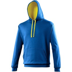 Vêtements Sweats Awdis Hooded Bleu roi / jaune
