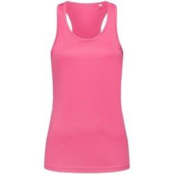 Vêtements Femme Débardeurs / T-shirts sans manche Stedman Active Rose
