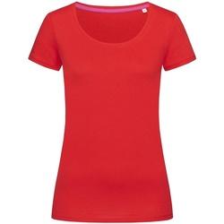 Vêtements Femme T-shirts manches courtes Stedman Stars Megan Rouge foncé