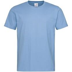 Vêtements Homme T-shirts manches courtes Stedman Comfort Bleu clair