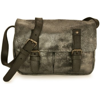 Sacs Homme Besaces C.Oui besace Glasgow 11 Gris anthracite