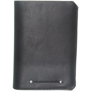 Sacs Homme Portefeuilles Baroudeur Portefeuille en cuir  ref_45297 Noir 11*14.5*2 noir