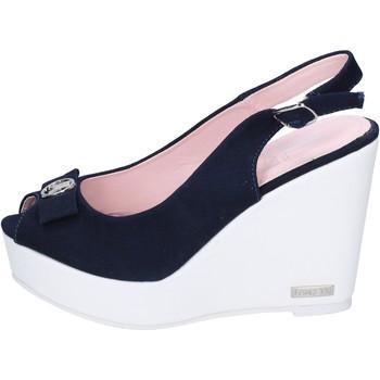 Chaussures Femme Sandales et Nu-pieds Lancetti sandales toile bleu