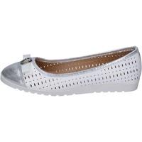 Chaussures Femme Ballerines / babies Lancetti ballerines cuir synthétique blanc