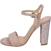 Chaussures Femme Sandales et Nu-pieds Olga Rubini sandales daim synthétique rose