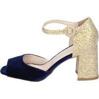 Chaussures Femme Sandales et Nu-pieds Olga Rubini BP571 bleu