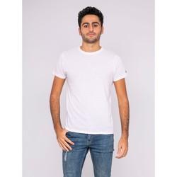 Vêtements T-shirts manches courtes Ritchie T-shirt col rond pur coton organique WAMASSOU Blanc