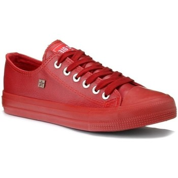 Chaussures Femme Baskets basses Big Star V274872 Rouge