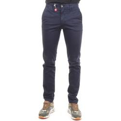 Vêtements Homme Pantalons de costume Manuel Ritz 2732P1578T 193811 Bleu moyen