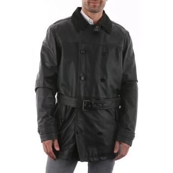 Vêtements Homme Trenchs Mac Douglas London 1 Noir (SANS doubl.) Noir