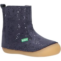Chaussures Fille Bottes ville Kickers 584417-10 SOCOOL Azul