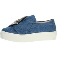 Chaussures Fille Baskets basses Florens Z1458 Jeans