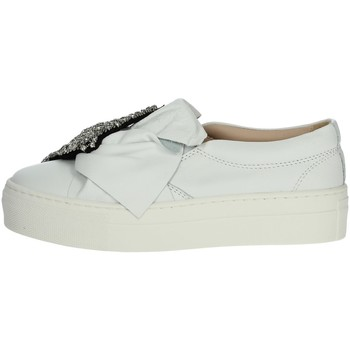 Chaussures Fille Baskets basses Florens Z1458 Blanc