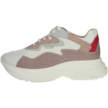 Chaussures Femme Baskets montantes Florens G7588 Poudre rose