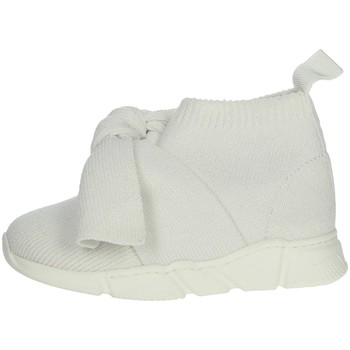 Chaussures Fille Baskets basses Florens E6634 Blanc