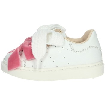 Chaussures Fille Baskets basses Florens E6410 Blanc